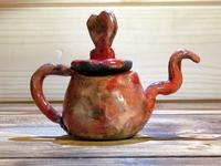 Leuk decoratief thee potje