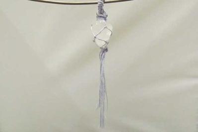 Gewolkte bergkristal